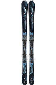 2017 Salomon Women's Astra All Mountain Ski with Salomon Lithium 10 W Alpine Ski Bindings Carving Skis, Ski Bindings, Alpine Skiing, Gifts For Her, Basin, How To Make, Mountain, Stuff To Buy, Shopping