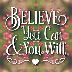 """Believe in yourself!  #quotes #christian #jesus #love #Christ #God #bible #motivation #encouragment #prayer #faith #strength #endurance #bibleverse…"""