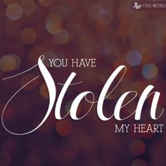 You have stolen my heart - Dashboard Confessional