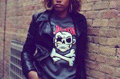 @PlaydotApparel keep us looking Fresh with their Skull & Crossbone Sweatshirt. 1 word DOPE!