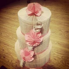 Wedding cake bookfold