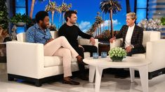 """THE ELLEN SHOW - """"Solo: A Star Wars Story"""" actors Donald Glover and Alden Ehrenreich chatted with Ellen about partying with co-star Woody."""