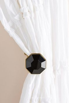 Rylee Tieback by Anthropologie in Black, Hardware Wall Hooks, Home Collections, Furniture Decor, Anthropologie, Wall Lights, New Homes, Unique, Shopping, Hardware