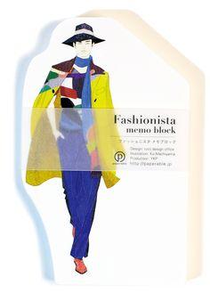 Fashionista memo block on Behance