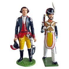 Soldados de juguete fabricados en América del Sur y México: Red Coat (Fabricación actual)