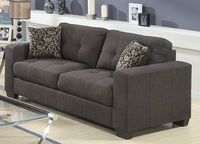 Lacey Sofa only $699 including tax & free local delivery! #sofa #palluccifurniture http://www.palluccifurniture.ca/fabric-sofas/lacey-grey-fabric-sofa/