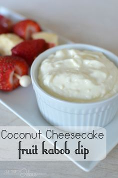 coconut cheesecake fruit kabob dip #addcoolwhip #shop #cbias