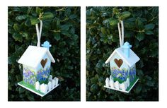 Texas theme bird house by WDGDESIGN on Etsy