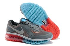 Womens Nike Air Max 2014 Mesh Grey White Blue USA Sale Cheap Price Contact: topshoesale@foxmail.com