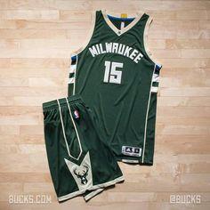 Milwaukee Bucks new away jerseys. | So dope.