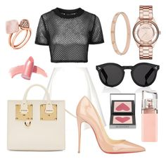 """""""Unbenannt #203"""" by lailabalic on Polyvore featuring Mode, Topshop, Neil Barrett, Sophie Hulme, Marc by Marc Jacobs, Cartier, Christian Louboutin, Michael Kors, Illesteva und HUGO"""