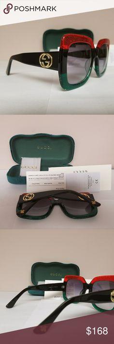 550212cb89e Beautiful Authentic Oversized Gucci Sunglasses No scratches
