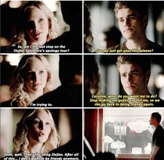 """#TVD 6x06 """"The More You Ignore Me, the Closer I Get"""" - Caroline and Stefan"""