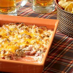 Top 20 Tailgating Dips and Appetizers    Score big points with your fellow football fans by sharing these crowd-pleasing starters on game day.