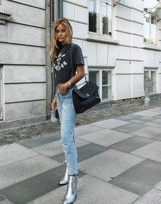 - rodeo.blogg.se Street Style 2018, Street Style Edgy, Autumn Street Style, Model Outfits, Fashion Outfits, Fashion Styles, Womens Fashion, Spring Summer Fashion, Autumn Fashion