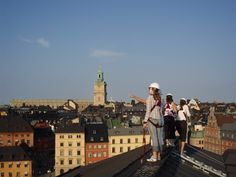 Rooftop Tour Stockholm in English | TAKVANDRING