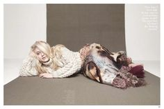 Dakota Fanning covers the December 2012 issue of InStyle UK photographed by Karen Collins with makeup by Jeanine Lobell.