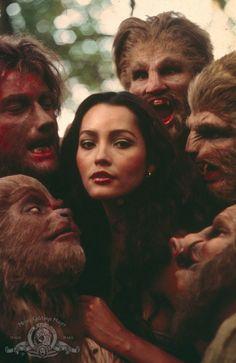 Still of Barbara Carrera in The Island of Dr. Moreau (1977)