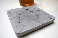 Rather than being crafted from plastic that contains petroleum or chemicals that can pollute the air and water, these attractive coasters are made from recycled ash mixed with cement, both of which are non-toxic.