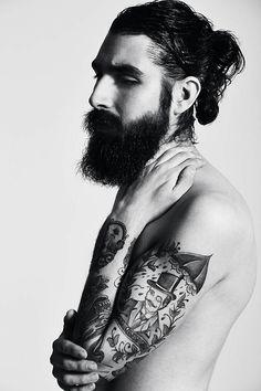 asifthisisme: P. Jose Pope M. Anthony Bogdan / the tattoos / the hair / the beard