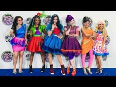 My First Acting Experience: Disney Descendants Neon Lights Ball! - YouTube