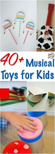We know how important musical education is for kids, which is why toy musical instruments can be so fun and helpful for them! Here are some of the best musical toys for kids. This post contains affili Musical Toys For Kids, Music For Kids, Toys For Boys, Diy For Kids, Crafts For Kids, Music Toys For Toddlers, Children Music, Children Toys, Toddler Crafts