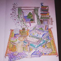 """Another one!  #color #crayon #kolorowanki #wyspy #sztukakolorowania #art #love #it #proud"""