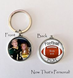 Hey, I found this really awesome Etsy listing at https://www.etsy.com/listing/204284924/football-mom-keychain-football-mom