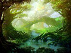 фэнтези лес - Поиск в Google