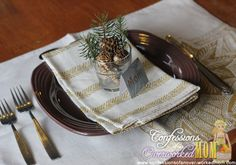 Holiday Table Settings for an Eco-friendly Holiday