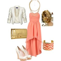 Spring and Gold, created by rssoftball on Polyvore