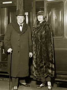Google Image Result for http://cache2.allpostersimages.com/p/LRG/30/3012/IU8BF00Z/posters/winston-churchill-british-prime-minister-with-wife-clementine-churchill-about-to-board-a-train.jpg