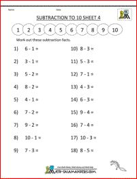Find Our Selection Of Free Addition And Subtraction Worksheets For Kindergarten Printable Math Kids By The Salamanders