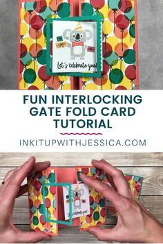 Kids Birthday Cards, Scrapbook Birthday Cards, Birthday Card Making, Scrapbook Cards, Fancy Fold Cards, Folded Cards, Cool Cards, Cards Diy, Easy Cards