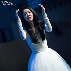 Angel's Last Mission: Love (단, 하나의 사랑) - Drama - Picture Gallery Asian Actors, Korean Actresses, Kim Myung Soo, People Dancing, Love Pictures, Beautiful Moments, Korean Girl, Dancer, Wedding Dresses