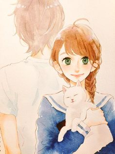 """Yamamori Tweet on Tsubaki Chou Lonely Planet I'm a bit late mentioning this, but my new series """"Tsubaki Chou Lonely Planet"""" will start in the next issue of Margaret. The title is long but please give me your support. For the time being, I'll work hard in drawing the cat cutely."""