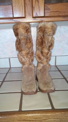 SOFFT Womens Taupe Suede & FUR ZIP UP Knee HIGH BOOTS NWOB SZ 8M VERY CUTE #Sfft #FashionKneeHigh