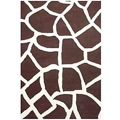 @Overstock - Hand-tufted contemporary rug complements any home decor Area rug boasts a giraffe skin design Fashionable floor rug is made with 100-percent wool pilehttp://www.overstock.com/Home-Garden/Hand-tufted-Giraffe-Wool-Rug-5-x-8/3358206/product.html?CID=214117 $179.99