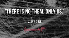 U2 Invisible lyrics   Tumblr