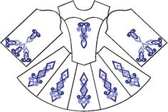 irish costume patterns | How to Make Your Own Irish Dance Costume – Earthly Delights: Music