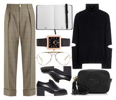 """""""Untitled #1270"""" by m-asquerade ❤ liked on Polyvore featuring Gucci, Public School, Acne Studios, CÉLINE and Larsson & Jennings"""