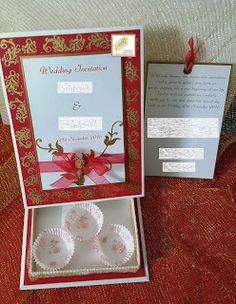 V R Enchanted: Wedding Card with a Box