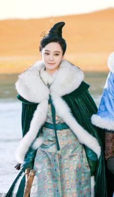 "Chinese actor, Fan Bingbing interpretation of ""Yang"""