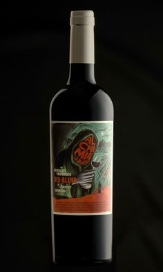 Alchimia de los Andes Red Blend on Packaging of the World - Creative Package Design Gallery