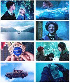 Harry Potter + blue