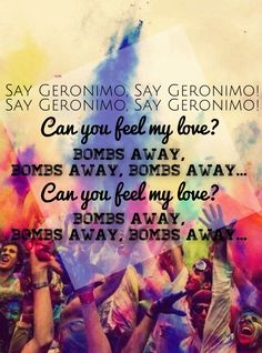 Love this jam. Love this band.  Geronimo by Sheppard