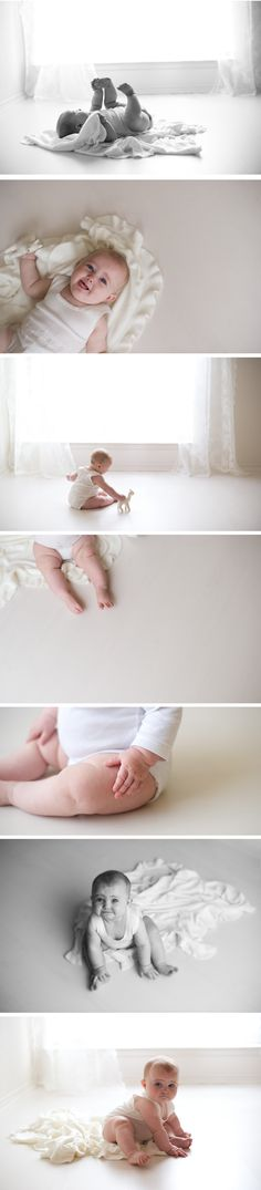 simple and natural baby session In studio  | Dallas Ft Worth baby photographer | Copyright Lane Proffitt Photography