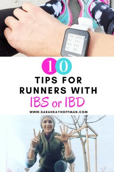 10 Tips for Runners with IBS or IBD. Have an autoimmune condition? Colitis? SIBO? IBS? IBD? But still want to run? You can! sarahkayhoffman.com