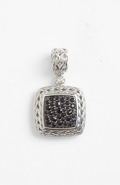 John Hardy 'Classic Chain' Square Pendant available at #Nordstrom