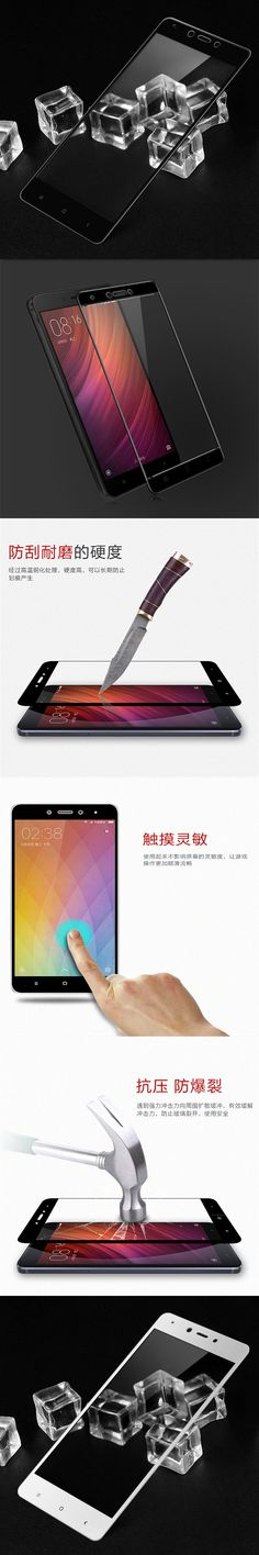 5.5 inch For Xiaomi Redmi Note 4X Tempered Glass Screen Protector Full Screen Coverage Film For Xiomi Redmi Note4x